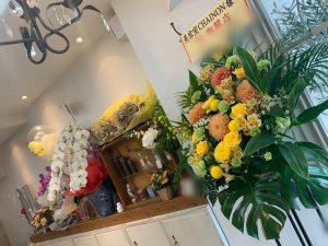 素敵なお花をありがとうございます!