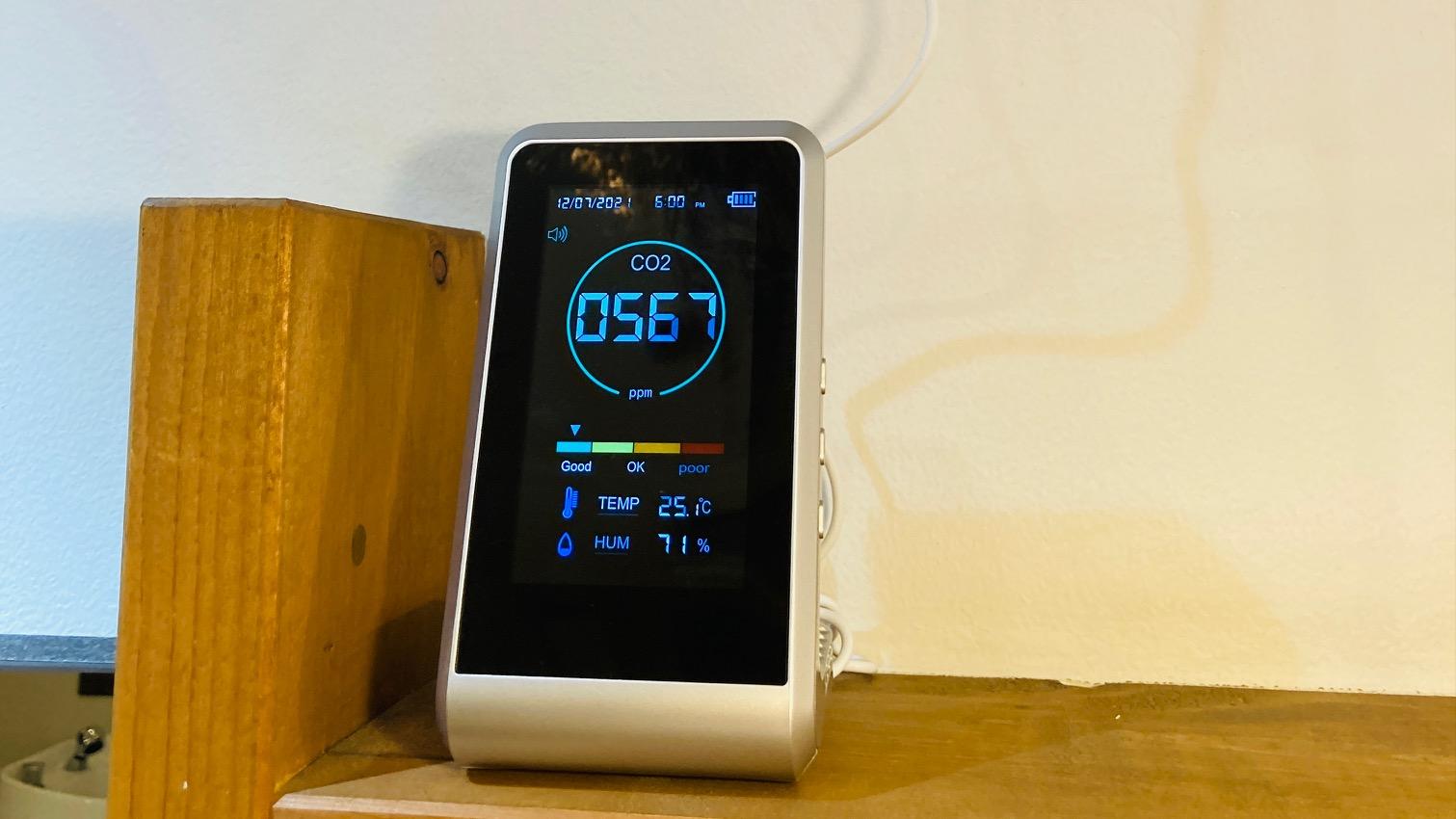 CHAINONにもCO2マネージャー・二酸化炭素濃度測定器がやってきました!(^^)!